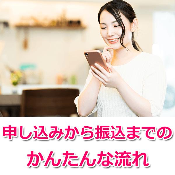 ソクフリでの買取の流れ【Amazonギフト券】
